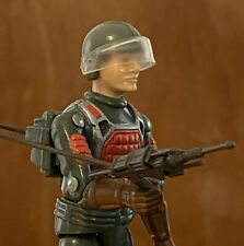 Vintage 1982 Flash Laser Rifle Trooper Straight Arm Gi Joe Figure w/ Accessories