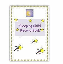 SLEEPING CHILD RECORD/LOG BOOK EYFS childminder/childminding paperwork resources