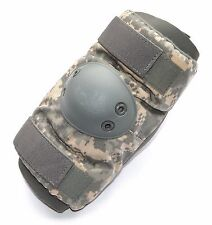 ACU DIGITAL CAMOUFLAGE MILITARY ISSUE ELBOW PAD SET MEDIUM