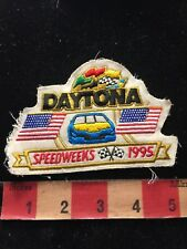Used 1995 Florida DAYTONA SPEEDWEEKS NASCAR Car Race / Auto Jacket Patch 86N5