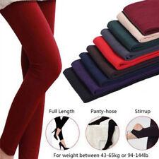 Women Autumn leggings Warm Winter Stripe Woman Thick Legging Slim Super  o1w