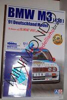 KIT BMW M3 E30 1991 DTM + GRADE UP SET 1/24 AOSHIMA 09819 BEEMAX 24007