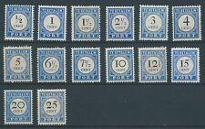 1894TG Nederland Portzegel  P13-P26  postfris mooie serie! zie foto's.