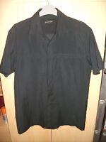 Mens Burton Black Short Sleeved Shirt Size Small Man Good Used Condition
