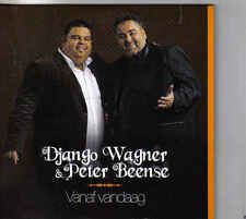 Django Wagner&Peter Beense-Vanaf Vandaag cd single