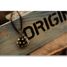 The Little Prince Rivet Star Flower Punk Pendant Necklace Very Cute Perfect Gift