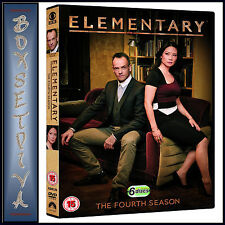 ELEMENTARY - COMPLETE SEASON 4  *BRAND NEW DVD**