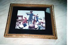 The Seaside Concert - Print Signed: T Durkin (could be a water colour)