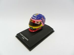 Helmet Jacques Villeneuve 1998 Williams MINICHAMPS 1/8 F1 Helmet Formula 1