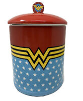Discontinued Classic Ceramic DC Comics Wonder Woman Cookie Jar  Container
