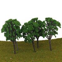 5Pcs Arbre Train Ho N Miniature Décor Paysage L'échelle 1:50-75 16 cm