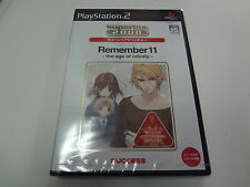 Remember 11 The Age of Infinity BEST Sony PlayStation 2 Japan NEW