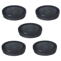 5 PCS New Rear Lens Cap Cover for Sony E-Mount Lens Cap NEX NEX-5 NEX-3