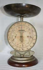 Vintage Salter Spring Balance Scales for silver and copper coins, Barclays Bank