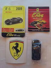"DIE CAST FERRARI MICRO CARS "" 458 ITALIA - 2009 "" USCITA N° 6 1/100 KYOSHO"