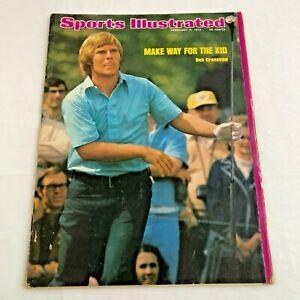 Ben Crenshaw Golf Sports Illustrated Magazine February 74