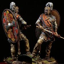 1/24 Scale 75MM Ancient Warrior Resin Figure Model Unassembled Garage Kit Statue