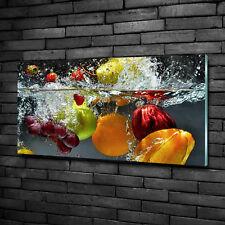 Wandbild aus Plexiglas® Druck auf Acryl 100x50 Essen /& Getränke Obstkorb