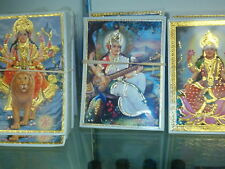 Gold Foil Pictures of Hindu Gods - 5x7 new item various types available