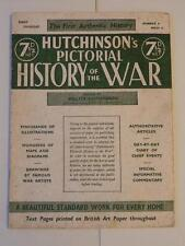 Hutchinson's Pictorial History of the War Number 4 Series 13