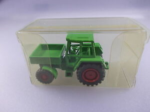 Tractor With Flatbed, Metal Approx. 1:87 (GK12)
