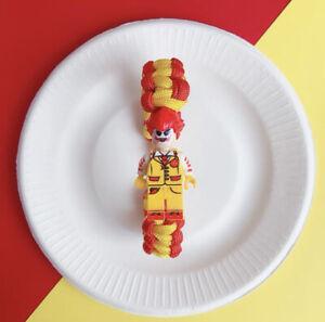 *NEW*- Joker Cosplay Mcdonald's- DC Universe Block Minifigure Hand rope Bracelet