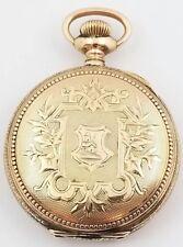 Antique Phyllis Gold Filled Pocket Watch Philadelphia Case Double Hunter 1903