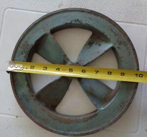 "# 14210 CAMPBELL HAUSFELD? Air Compressor Flywheel or V-belt Pulley 10"" dia."