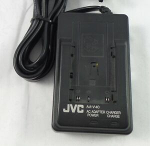 JVC AC Adapter Charger Model AA-V40U