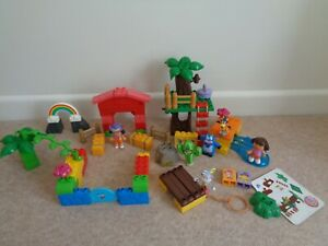mega blocks dora the explora figures tree house  compatible