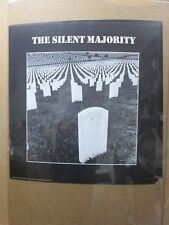 The Silent Majority  Vintage Black /White Poster anti war 1970's in#G2665