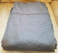Charter Club Damask Solid Gray Charcoal Twin FLAT Sheet