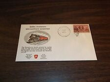 JUNE 1952 PRR PENNSYLVANIA BROADWAY LIMITED GOLDEN ANNIVERSARY SOUVENIR ENVELOPE