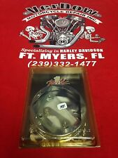 HARLEY DAVIDSON WILD 1 CHROME REAR HUB COVER FOR SOFTAILS 84`-99`