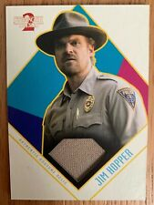 2019 Topps Stranger Things 2 Jim Hopper Base Relic Card CR-HU