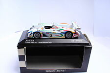 MINICHAMPS 400010903 Audi R8 2001 Herbert/ Kelleners/ Theys #3 1:43 Boxed