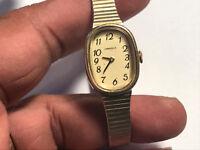 Nice Vintage Ladies Gold Tone Caravelle N5 Analog Watch