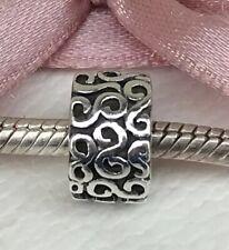 Genuine Pandora Silver Serpentine Clip 790388