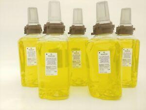 Lot of 5 Brighton  ADX-12 Foam Hand & Showerwash, Citrus Ginger ,8813-03 , 21891