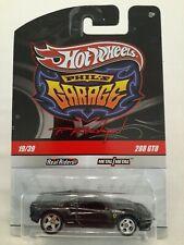 Hot Wheels Ferrari 288 GTO PHIL'S GARAGE Chase Black with Initials 2009