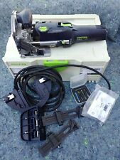 Festool DF 500 Q-Set DOMINO  574432 with accesories W/ Cutters assortment