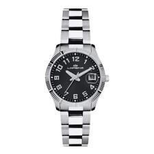 Orologio Donna LORENZ 027066GG Bracciale Acciaio Nero Classico Sub 50mt
