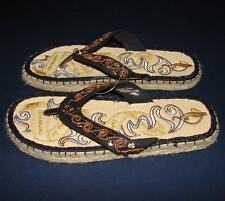 Baby Phat Espadrille Thong Sandals Flip Flops Womans 6 NEW
