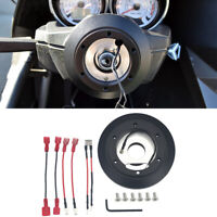 Steering Wheel Short Hub Adapter Kit For Audi A4 A6 A8 VW Jetta Golf Cayman 180H