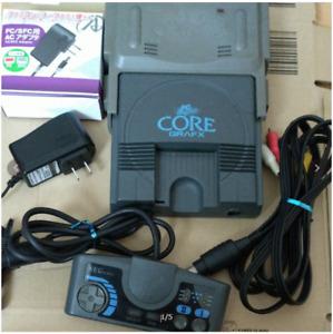 NEC PC engine CORE GRAFX CoreGrafx PI-TG3 Console tested working