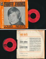 "EUROVISION 1969 45 TOURS 7"" SP FRANCE LOUIS NEEFS JENNIFER JENNINGS"