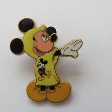 Disney Rain Poncho Mickey Mouse Free D Pin