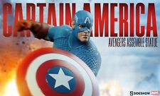 Sideshow Collectibles CAPTAIN AMERICA AVENGERS ASSEMBLE EXCLUSIVE Statue Marvel