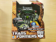 Transformers Hunt for the Decepticons HFTD Night Ops Ratchet NEW