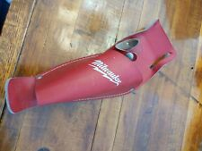 milwakee TOOL Holsters Top Grain leather Buckle Drill Leather Craft holster